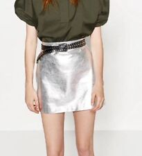 Zara Leather Plus Size Skirts for Women