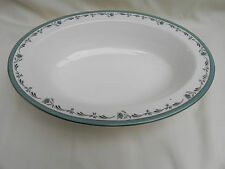 Royal Worcester SEA ROSE OVAL VEGETABLE DISH 26.5cm x 19.5cm x 5.5cm, (No 1.)