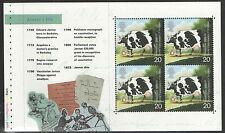 (Wc1) Gb Qeii Stamps World Changers Prestige Booklet Pane ex Dx23 1999