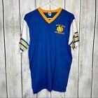 Vintage Velva Sheen Notre Dame Air Force ROTC Mens XL Short Sleeve Shirt