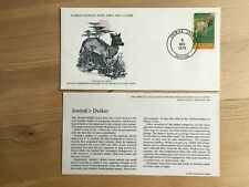 IVORY COAST COTE D'IVOIRE 1979 FDC WWF JENTINK'S DUIKER ANTELOPE