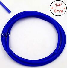 Blue 5M x 6MM Silicone Vacuum Hose Turbo Radiator Rubber Air Vac Pipe Car Tubing