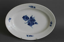 Royal Copenhagen Blaue Blume glatt ovale Platte L= ca. 25 cm # 8015 2.Wahl #1