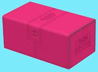 ULTIMATE GUARD TWIN FLIP n TRAY PINK 200+ XENOSKIN DECK CASE Gaming Card Box MTG