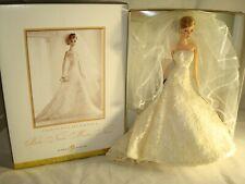 CAROLINA HERRERA BARBIE BRIDE DOLL GOLD LABEL 2005 NRFB NIB B9797