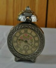 Vintage Avon Cologne Perfume Collectible Clock Shaped Bottle 95% Full Beautiful