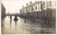 More details for lowestoft. high tide 1905. windsor road by h.jenkins, lowestoft. flood.