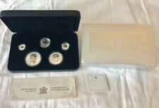 2004 Maple Leaf 5 Coin Privy Mark Set 9999 Silver Reverse Proof W/ Box