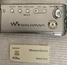 SONY Network Walkman NW-MS11 Portable Memory Stick Audio Player EUC
