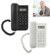 New Corded Phone Landline Telephone Home Office Desktop Caller ID Display US