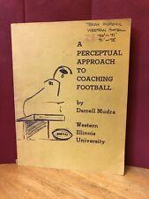 A Perceptual Approach to Coaching Football  Darrell Mudra - Dr. Victory RARE '70