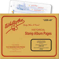 White Ace Stamp Supplement for U.S. Regular Issue Singles Simplified (USR-49)