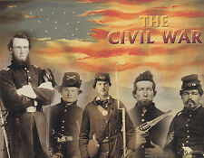 "*Postcard-""The 5 Heroes...American Civil War"" -Fought 1861-1865- (B495)"