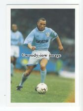 TC0051 - Manchester City Defender - Terry Phelan - postcard Barratt Premier