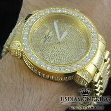 Joe Rodeo Khronos Genuine Real Diamond Tarnish Free Full Stainless Steel Watch