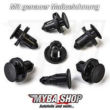 5x Scheinwerfer Stoßstange Befestigung Clips Fiat Suzuki | 0940908327 71741887