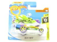 Hotwheels Bubble Matic Green Experimotors  FYD82 Short Card 1 64 Scale Sealed