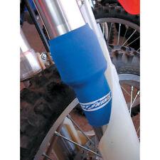 Neopren Gabelschützer Gabelschutz mit Klettverschluss Motocross Enduro Blau