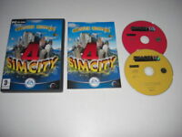 SIM CITY 4  DELUXE Pc Cd Rom Inc Base SIMCITY game + RUSH HOUR Add-On Expansion