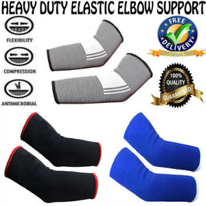 GLADIATOR High Quality Sports Gym Elbow Brace Strap Protector Support Wrap Sleve