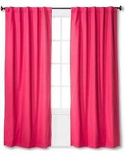 "Pillowfort Twill Pink Light Blocking Panel 84"" L (1 panel)"