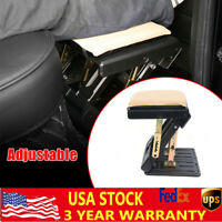 Portable Adjustable Height Foot Rest Stool Ergonomic for Home Office Car Train