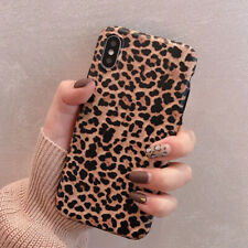 Fashion Animal Leopard Print Phone Case Cover For iPhone X XR XS MAX 7 8 Plus