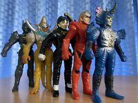Sentai power rangers liveman boss popy Chogokin bandai 1988 bioman 3 Toei Dx