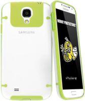 HORNY PROTECTORS Cover Rigida in TPU Samsung Galaxy s 4 S4 IV i9500 verde mela