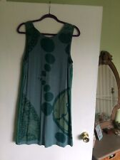 Gorgeous Soggo Of Paris Green Dress Size S/M