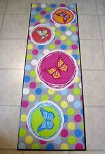 Waschbare Fußmatte Schmutzfangmatte SALONLOEWE Grau/Bunt 60 x 180 cm Läufer