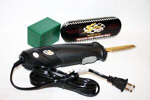 Speedee-Trim Corded Electric Hand Wet Trim Scissor Trimmer w/ Sabertooth Blade