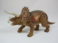 Jurassic Park III Re-Ak-Atak Electronic Triceratops Trike Dinosaur Working