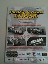 Phillip Island Classic Festival of Motorsport Program March 7 - 9, 2014