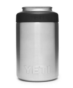 YETI Stainles Steel RAMBLER 12 OZ COLSTER CAN INSULATOR