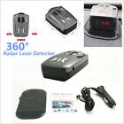 360  Car Speed speedometer Radar Laser Detector Voice Alert Safety Icon Display