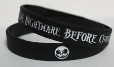 THE NIGHTMARE BEFORE CHRISTMAS SILICONE BRACELET JACK SKELLINGTON TNBC