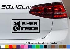 Biker Inside Aufkleber 20x10cm KTM Motorrad Super Cross Quad Sport Tuning Auto