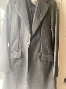 Grey Three Piece Custom Saddleseat Suit