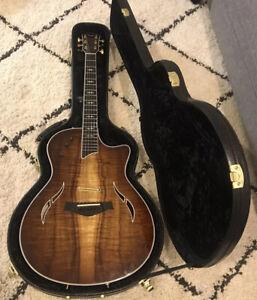 Taylor T5 Electric/acoustic Hybrid Guitar Custom Koa