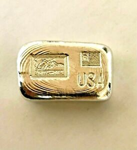 50g bar 9999 indium 50g hand poured bar beautiful pour lines. PLEASE READ BELOW!