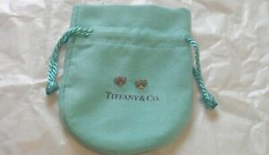 Authentic Tiffany & Co.  Platinum Pair Push Backs for Earrings