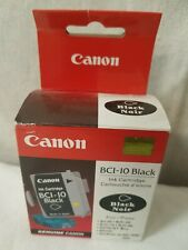 Pack of 3 Canon BCI-10 Black Ink Cartridges FREE SHIPPING 3 pack 3 pack 3 pack!