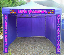 Heavy Duty Gazebo Catering Trailer Market Stall Aluminium Pop Up Event Tent