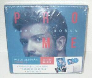PABLO ALBORAN PROMETO EDICION DELUXE CD 16 TEMAS + CUADERNO + 10 POSTALES NUEVO