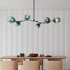 Black Chandelier Lighting Kitchen Lamp Large Pendant Light Glass Ceiling Lights