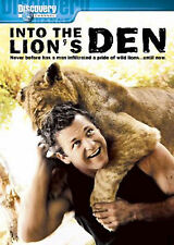 DISCOVERY CHANNEL: INTO THE LION'S DEN +LIVING WITH TIGERS(BRAND NEW DVD)