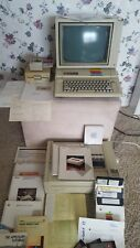 AMAZING Apple IIe Apple 2e Computer with Hardware and Lots of Software...LOOK!