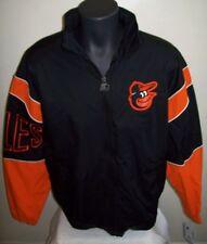"""Baltimore ORIOLES """"Starter Gust"""" Jacket Black & Orange Size: MEDIUM Retail: $99"""