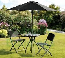 Unbranded Metal Garden & Patio Furniture Sets with 3 Pieces